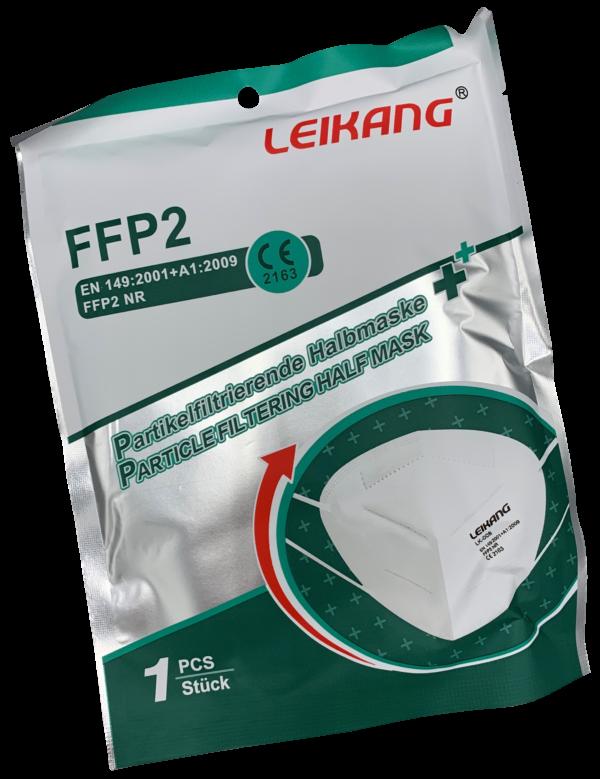 FFP2 Maske einzeln verpackt